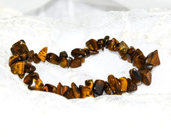 Crystal Chip Bracelet TIGER EYE
