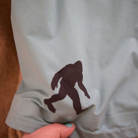 Gear Repair Patches In Fun Shapes - Camping, Tents, Jackets And More Sasquatch