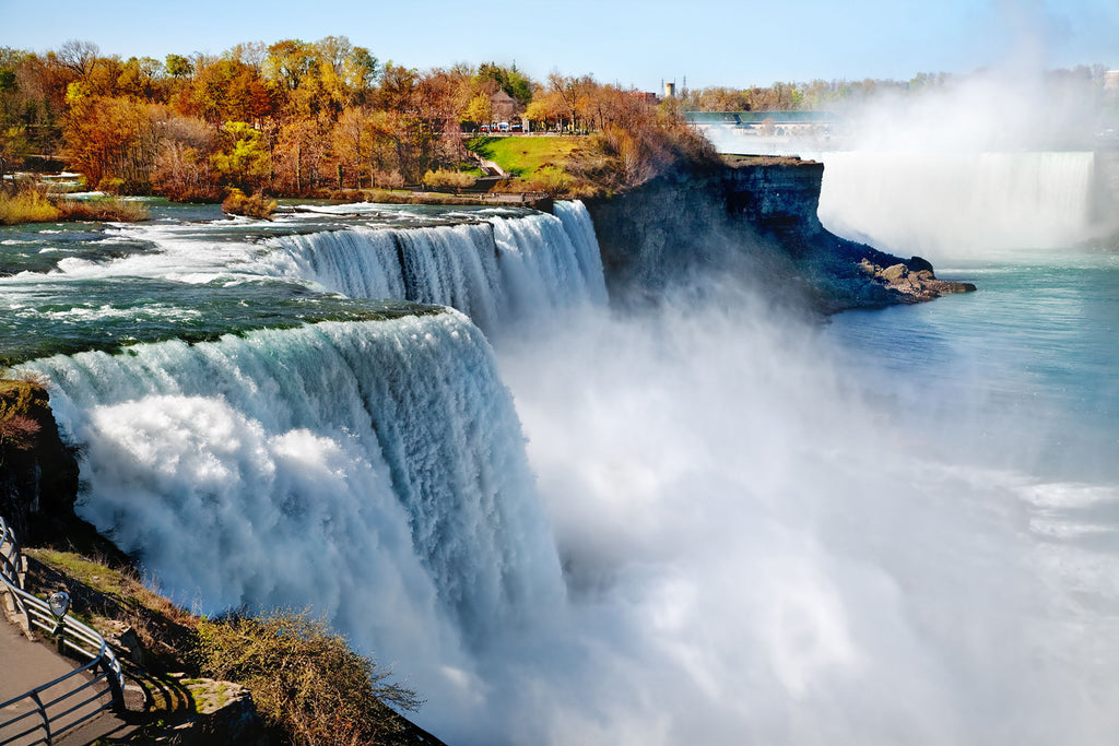 Niagara Falls In Fall