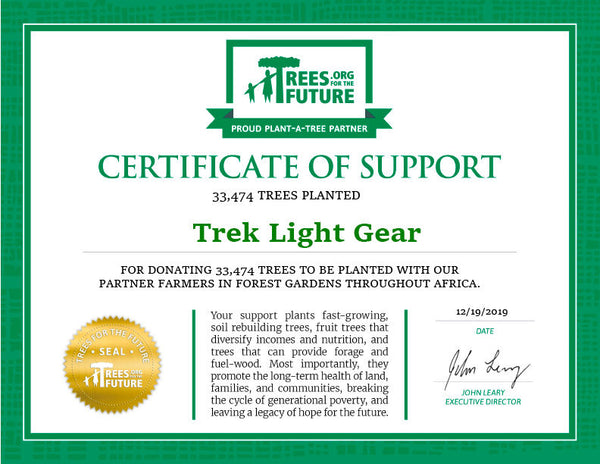 Trees For The Future - Trek Light Gear