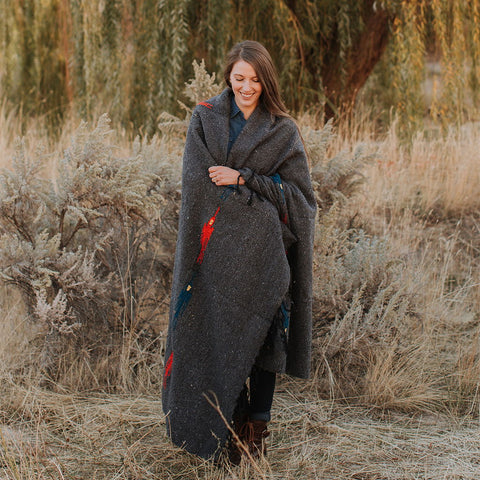 Blackbird Adventure Cozy Yoga Blanket Trek Light Gear