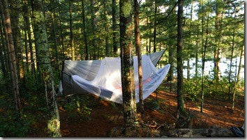 Hammock Camping Boundary Waters Trek Light Gear