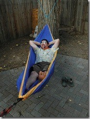 Hammock Pulling Too Tight