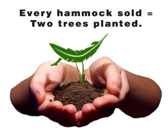Every hammock plants two trees