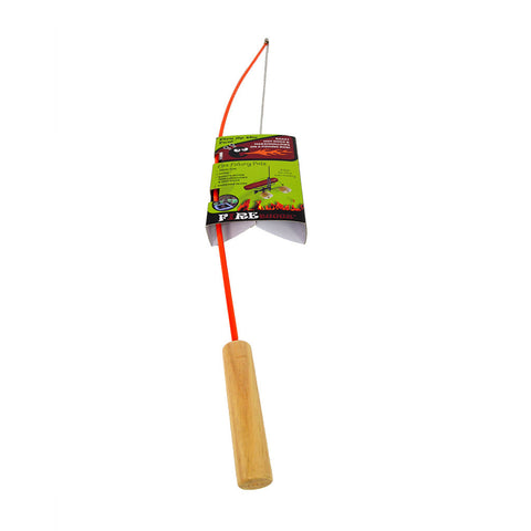 Campfire Fishing Pole Hot Dog Marshmallow Roasting Stick