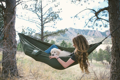 Nylon Travel Hammock For Hiking Backpacking Camping