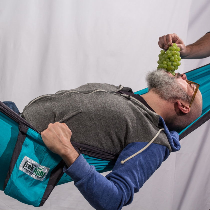 David Cross + Trek Light Gear Hammock Hero