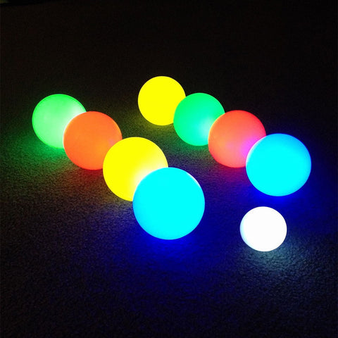 Light Up Bocce Ball Glow In The Dark Game & Camping Fun