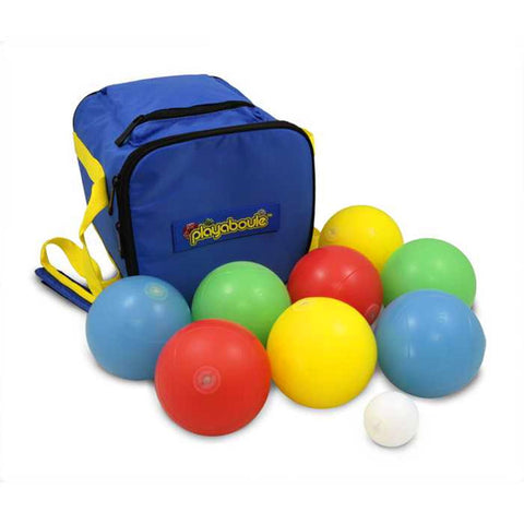 Portable Light Up Bocce Ball Glow In The Dark Game & Camping Fun - Regulation Size