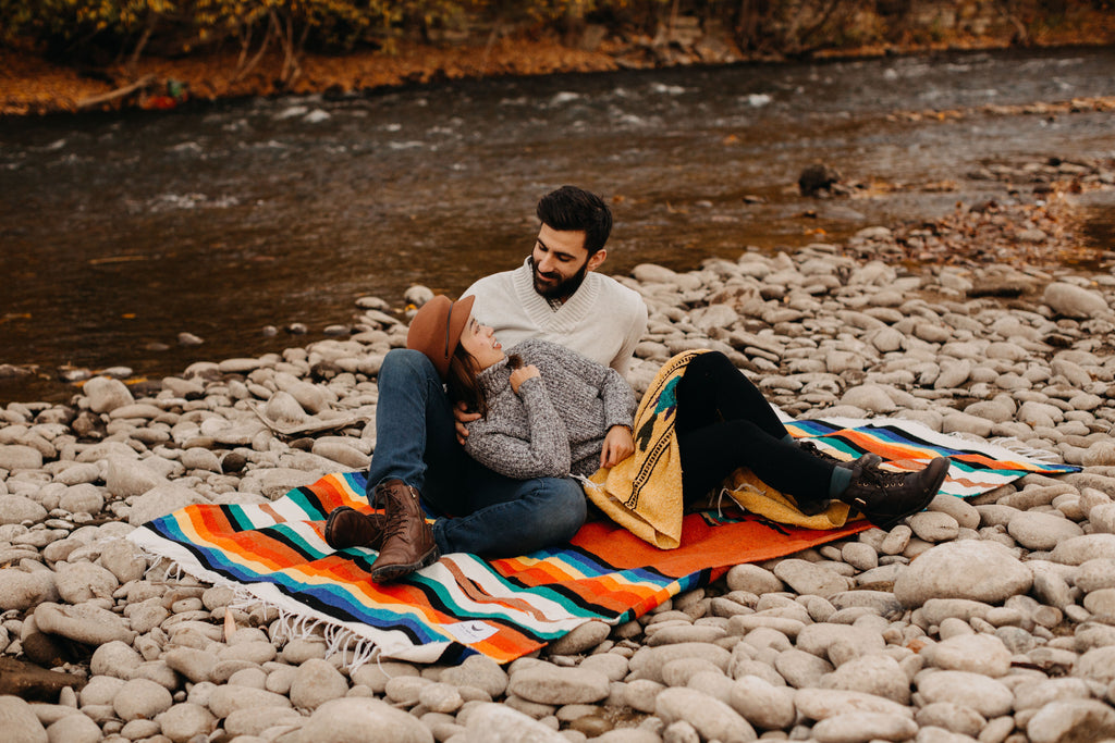 The perfect fall picnic needs the perfect blanket