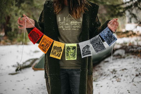 Prayer Flags For The Yard, Home, Or Camping