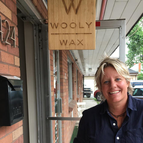 Wooly Wax Candles Maker - Rachel Woolcott