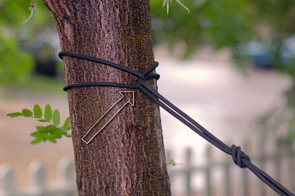 Hanging Your Hammock - Friction Hitch