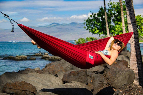 Single Lightweight Beach Hammock - Trek Light Gear