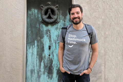 Hammock Time Shirt Super Soft T-Shirt Hammocker Gift