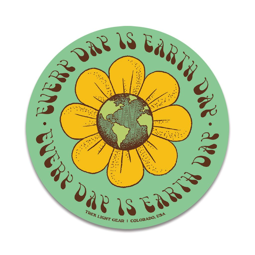 Every Day Is Earth Day Sticker