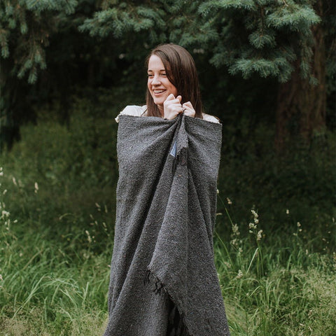 Greyson Blanket - For Camping Adventure Cozy Yoga Van Life