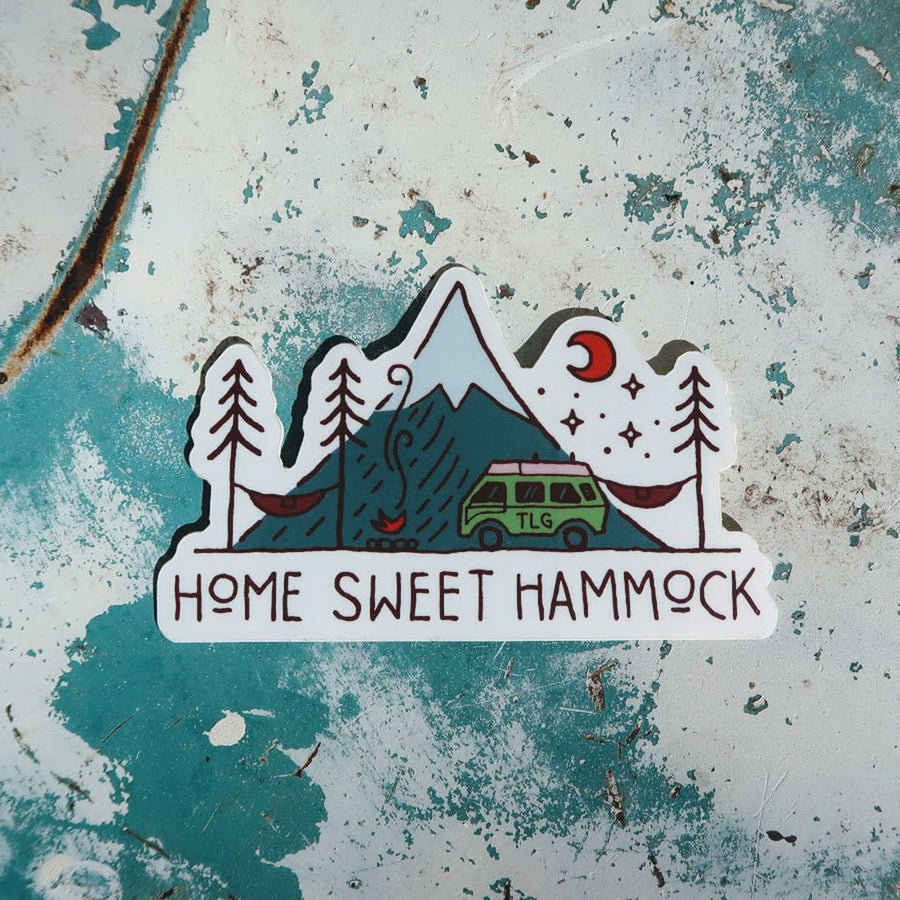 Home Sweet Hammock Sticker
