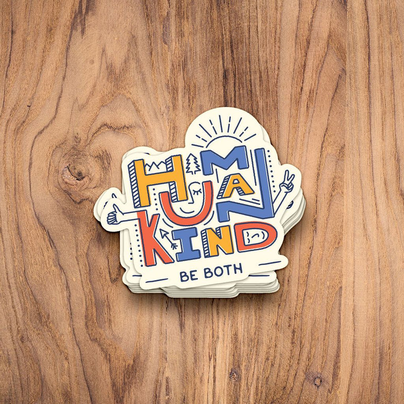 Human Kind Sticker