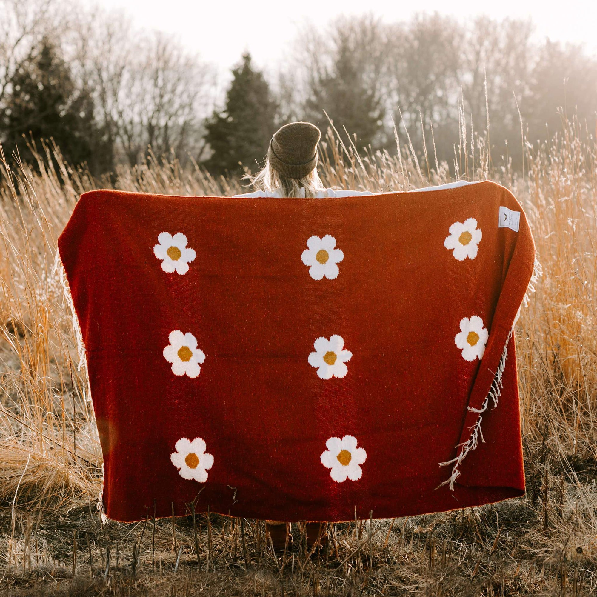 Lazy Daisy Blanket
