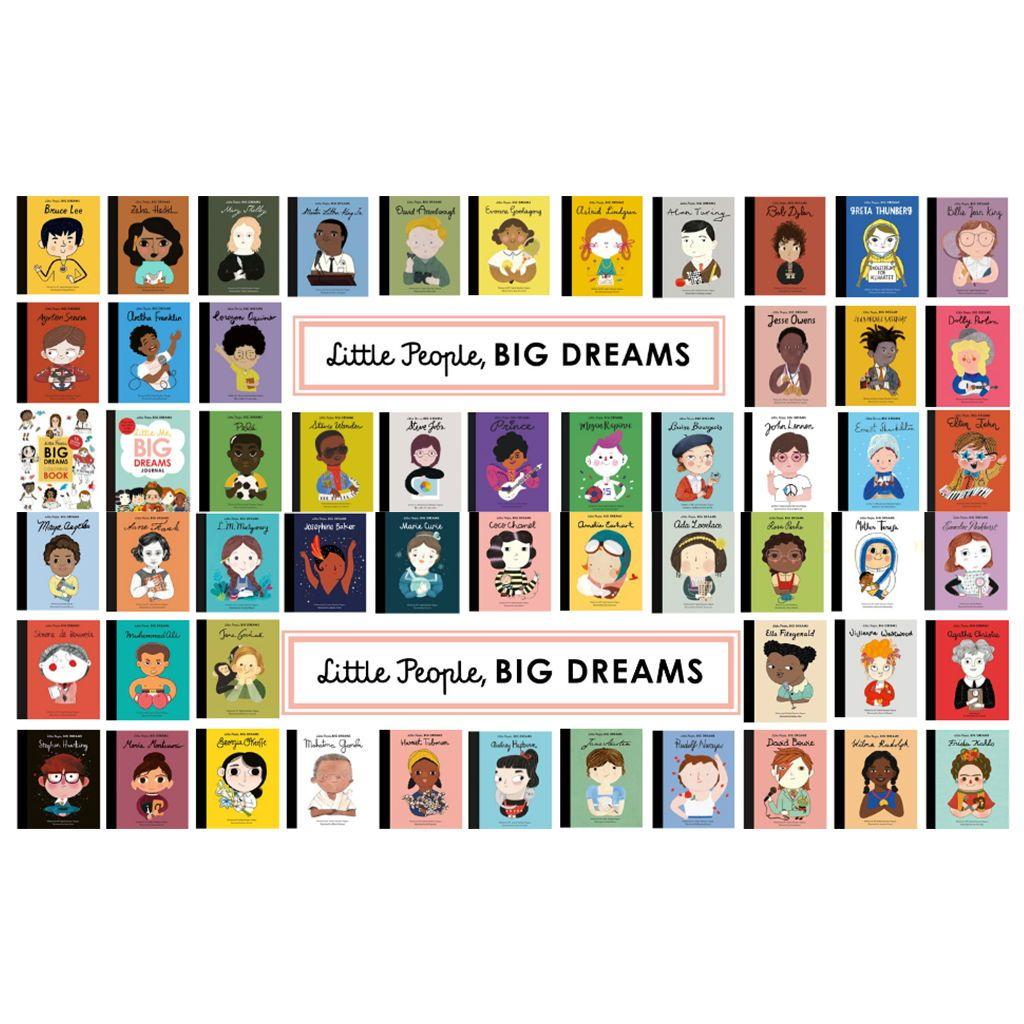 Little People, Big Dreams Books