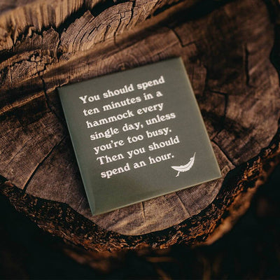 Hammock Advice Magnet