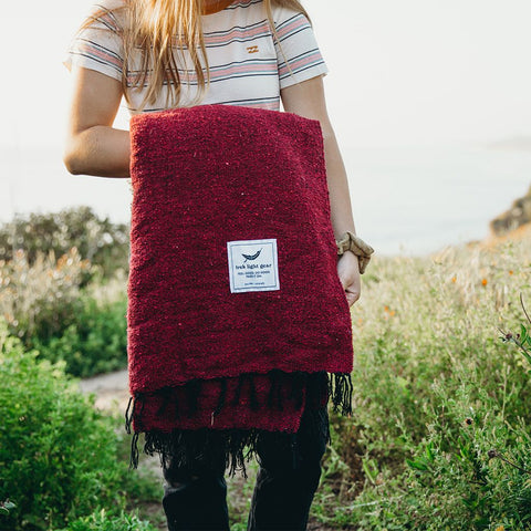 Napa Adventure Cozy Yoga Blanket Design For Camping