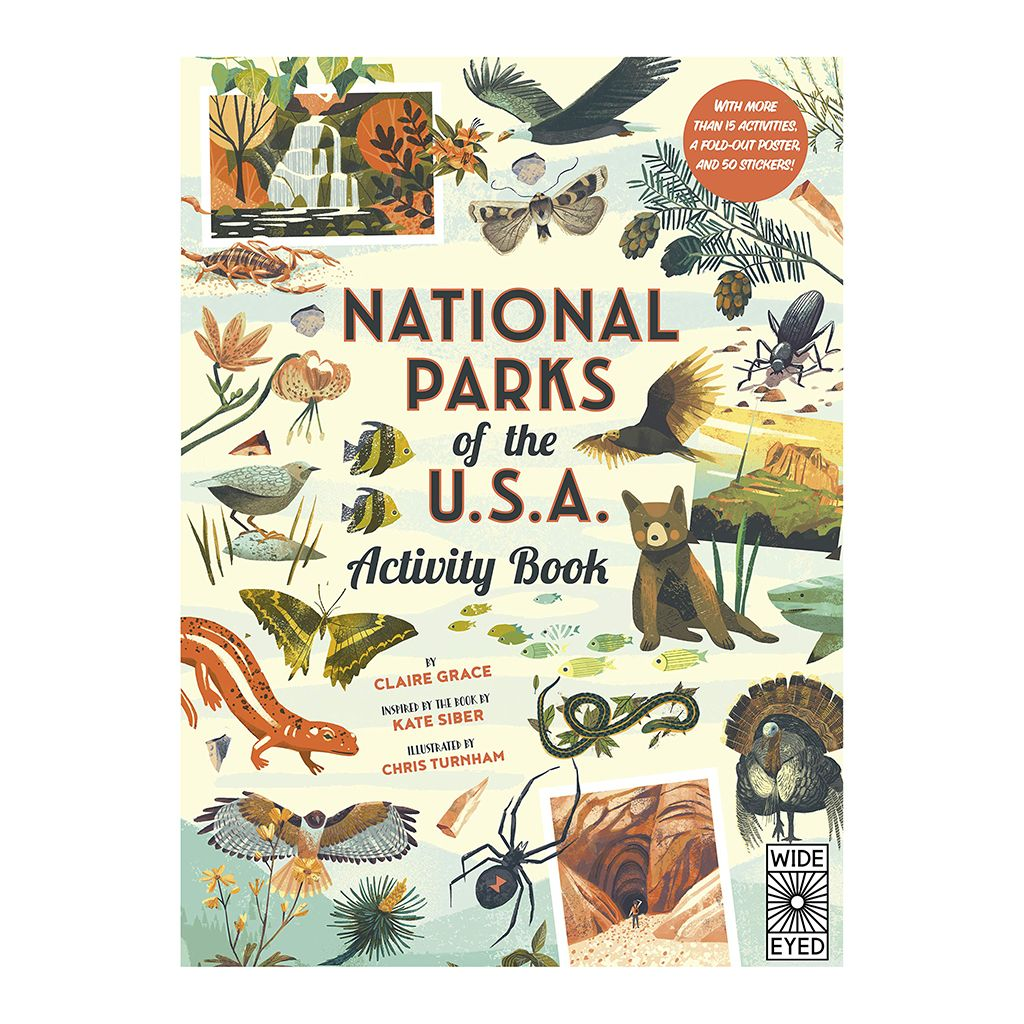 National Parks Kids Activity Book