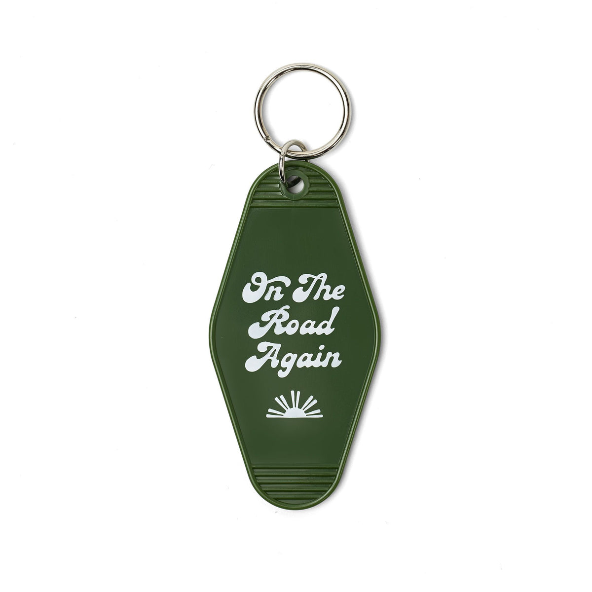Awesome Lives Here Motel Keytag