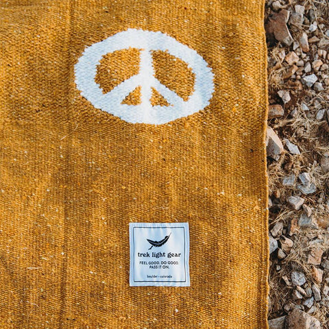 Peace Blanket. Adventure, Yoga, Travel, Van Life
