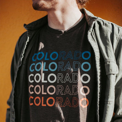 Rad Colorado T-Shirt - Super Soft Tee - Vintage Retro Vibe