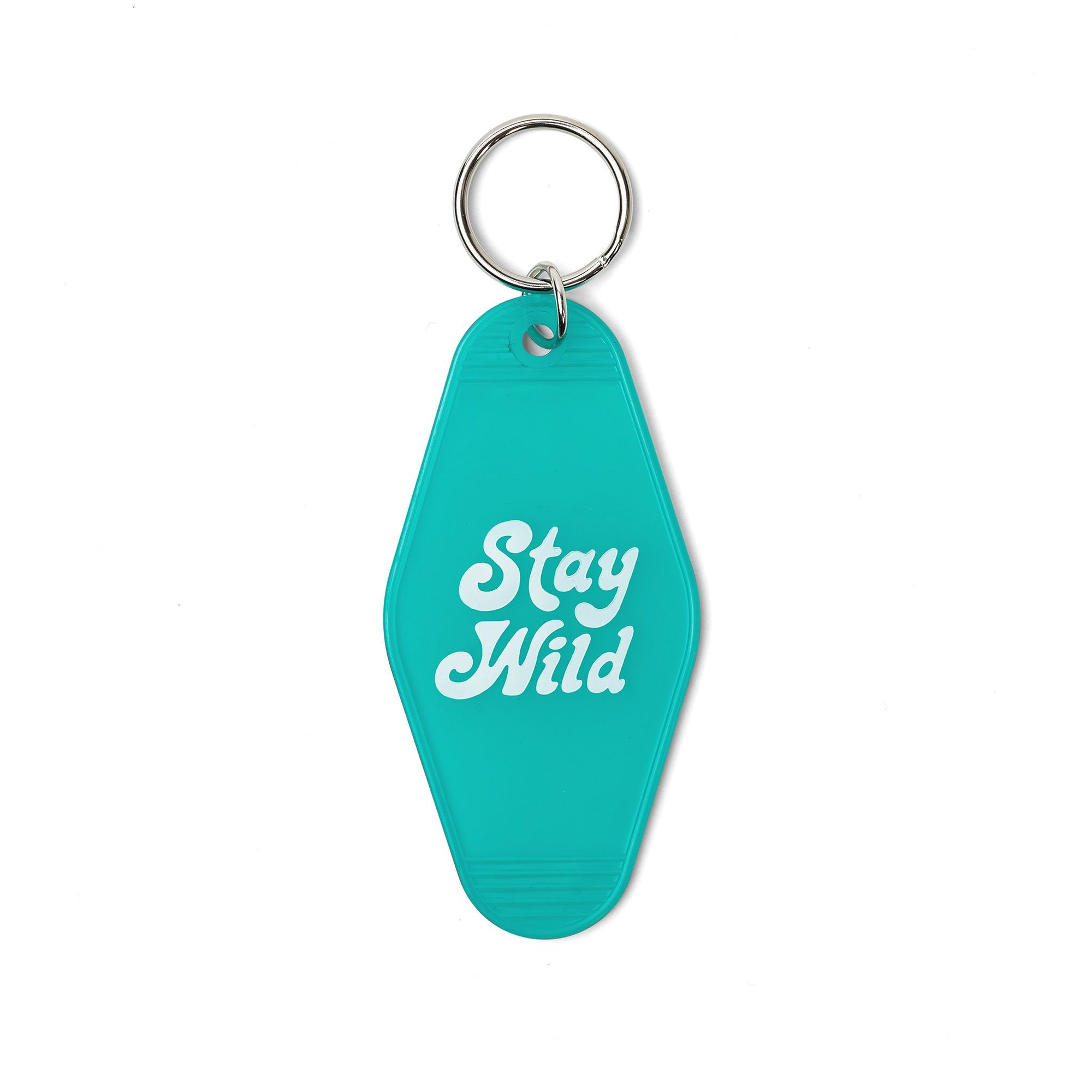 Stay Wild Key Tag