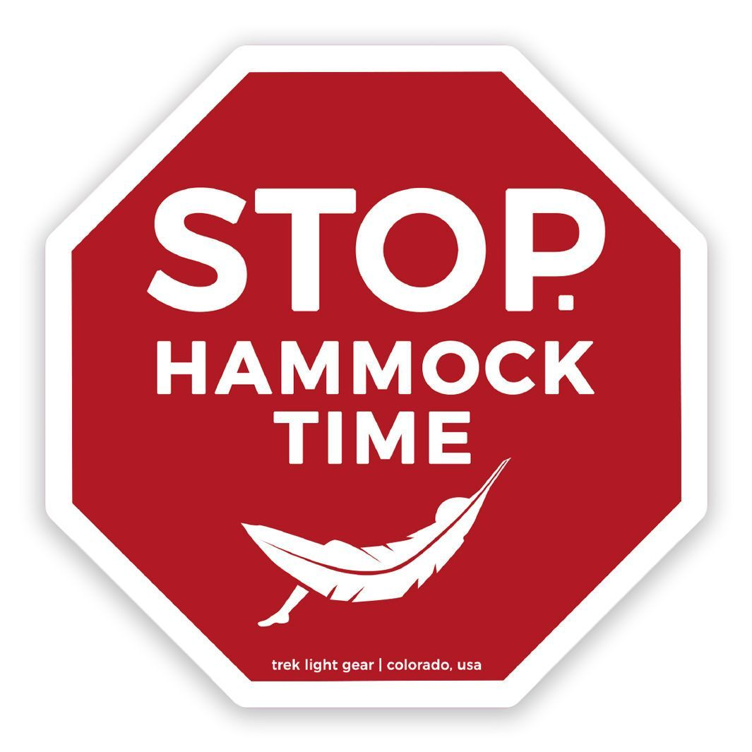 Hammock Time Sticker