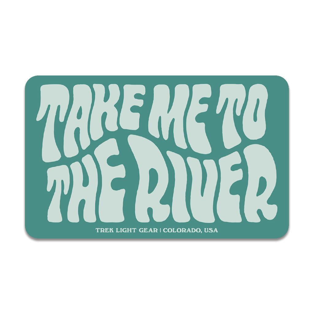 Take Me To The River Sticker