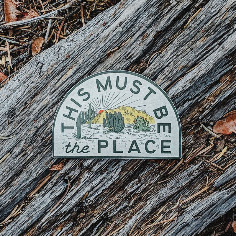This Must Be The Place Sticker