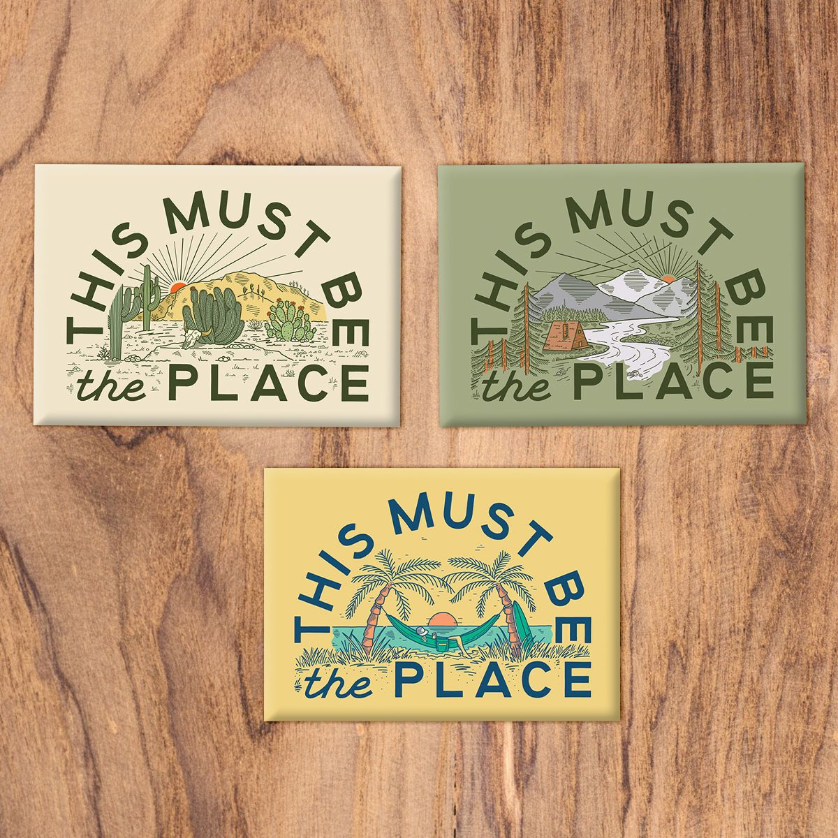 This Must Be The Place Magnet Set