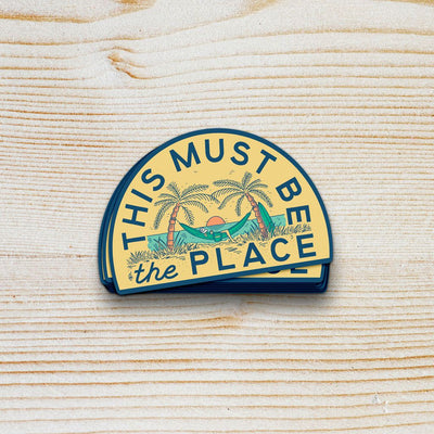 This Must Be The Place Sticker Set