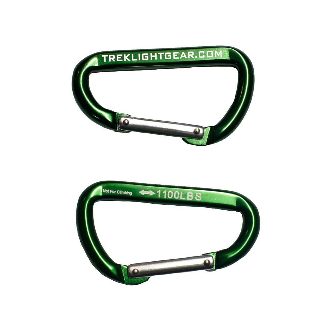 Ultralight Carabiner Pair