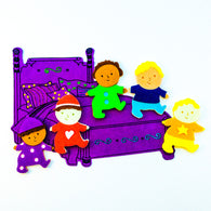 Five Toddlers In The Bed