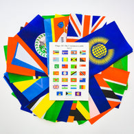 Commonwealth Flags Set 2