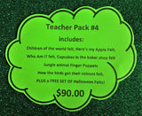 Teacher Pack #4