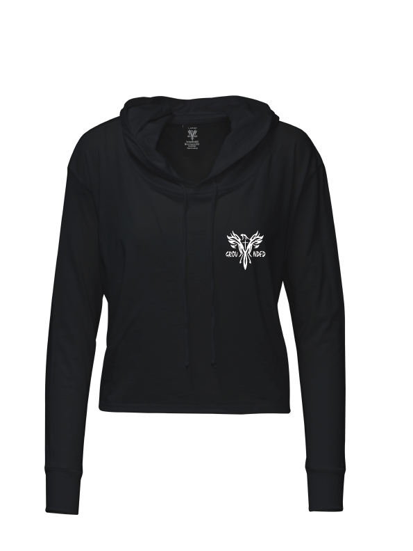 Happy Hour Crop Hoodie - New Design!!