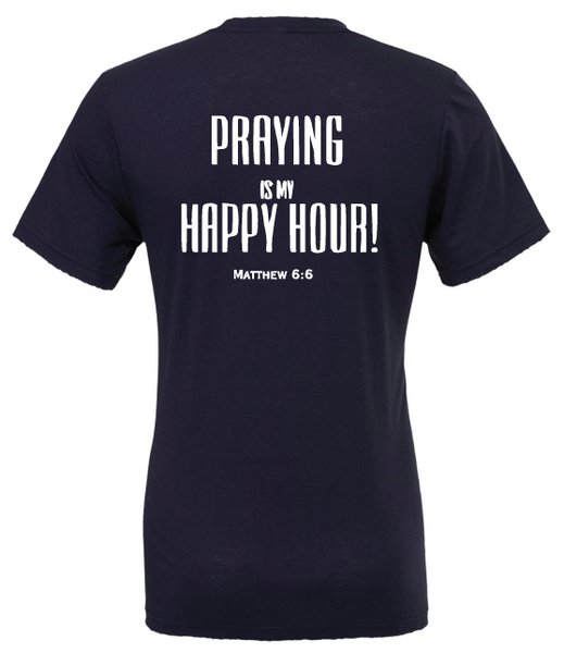 Standard Happy Hour Tee - Now offered in Spanish!