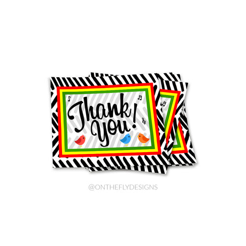 Lets Get Together + Feel Alright Thank You Card - On The Fly