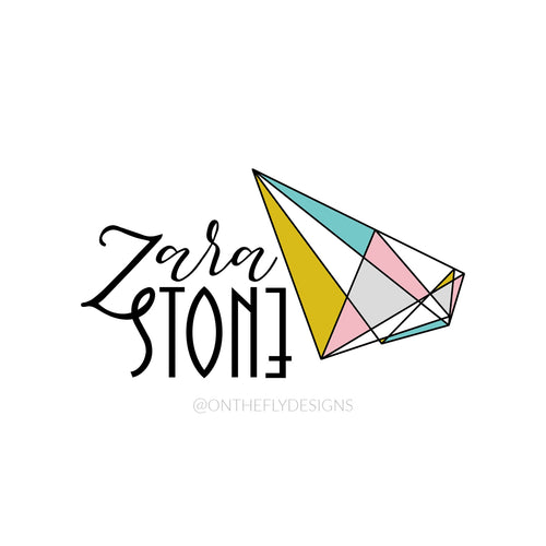 Geometric Zara Stone - On The Fly