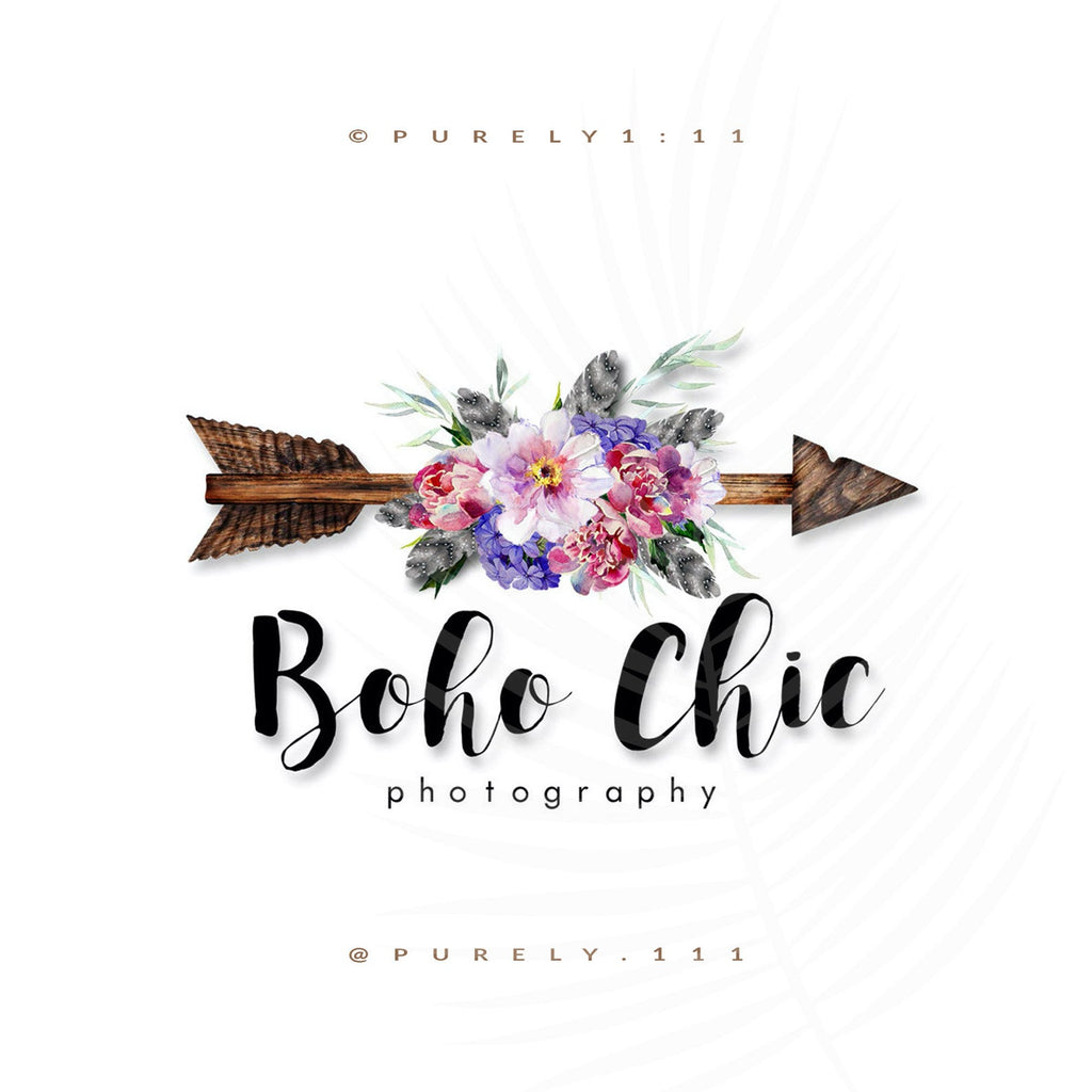 Boho Chic & Wooden Arrow - Purely 1:11