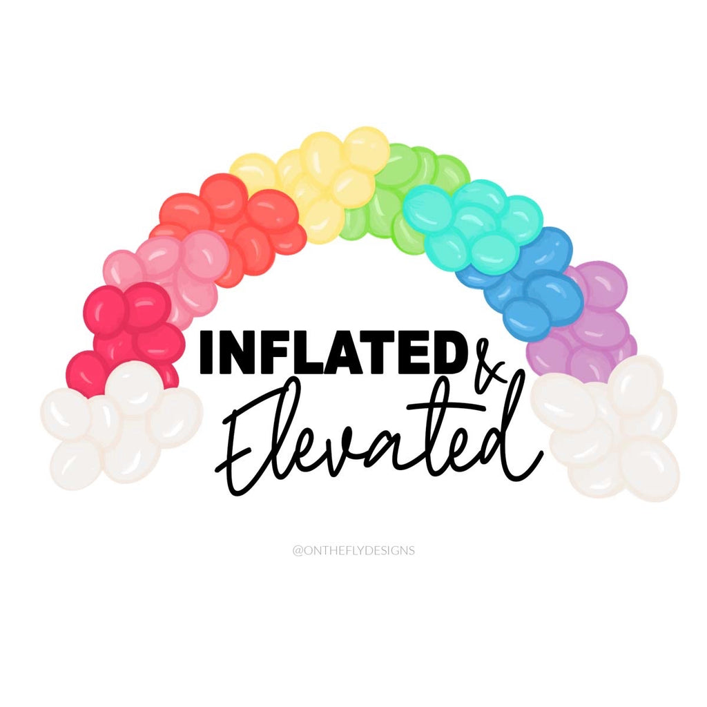 Inflated & Elevated Logo - Purely 1:11