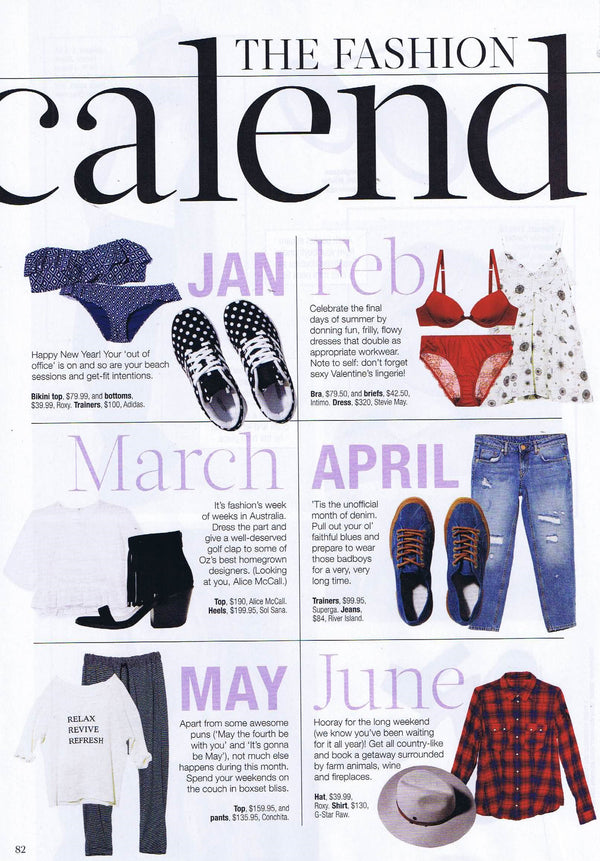 Conchita edit featured in Cleo, Jan 2016 // Here's to new beginnings - Relax Revive Refresh