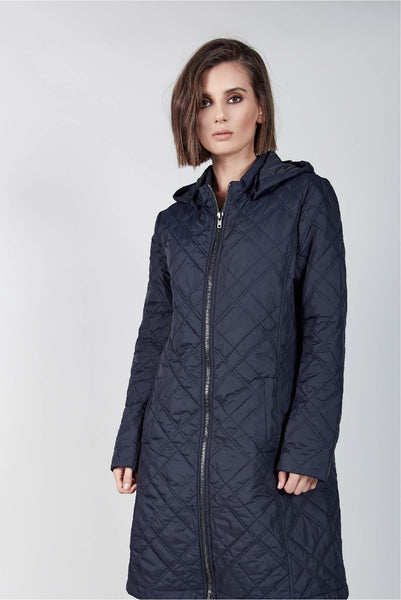 NIGHTSKY CHECK PUFFER