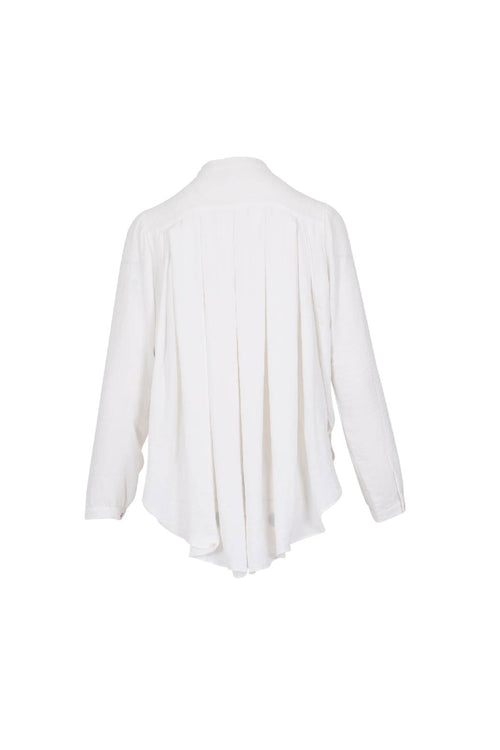 BACK PLEAT SHIRT